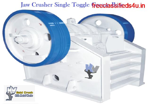 Jaw Crusher Single Toggle Grease Base - Jaw Crusher Gold Crush