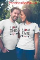Get the best Matching Couple t shirts with affordable cost