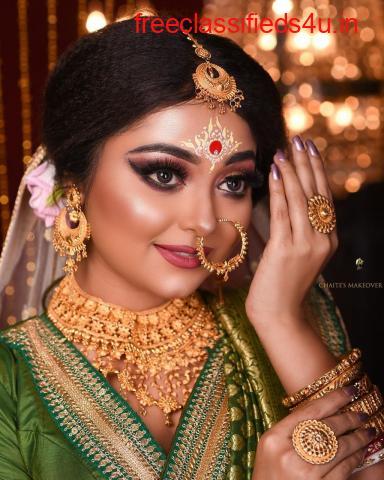 Best Bridal makeup artists in Nashik
