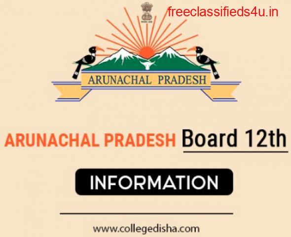 ARUNACHAL PRADESH BOARD 12TH TIME TABLE