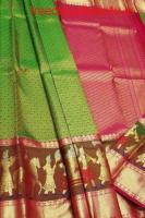 Shop Kanjivaram Silk Saree Online | Luxurionworld.