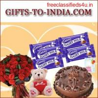Order Ravishing Bhaiya-Bhabhi Rakhi Sets to India at Low Cost-Same Day Delivery