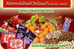 Order colourful Rakhis & Gifts at Cheap Price & get Same Day Delivery to Ahmedabad