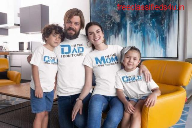 Looking for best Customized Family T Shirts Sets