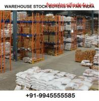 WAREHOUSE STOCK AND SCRAP BUYERS IN PAN INDIA +919945555585