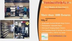 Readymade Garments Display Racks manufacturer in ahmedabad