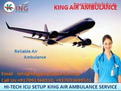 Take Safe & Credible Air Ambulance in Mumbai Instantly by King Ambulance
