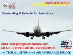 Outstanding & Fastest Air Ambulance in Allahabad by King Ambulance