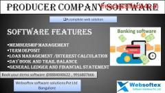Producer Company Software Web Based India Online Software