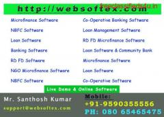 NBFC software Web based bangalore India