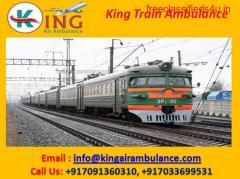 Get King Fastest Train Ambulance from Patna to Mumbai at Affordable Cost