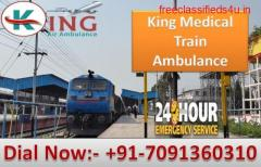 Get King Train Ambulance Service in Delhi with Unique Medical Facilities