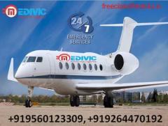Take Credible Air Ambulance from Patna with Medical Facility by Medivic