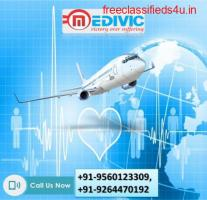 Urgent Hire Excellent Air Ambulance in Bhubaneswar by Medivic