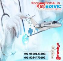 Get Trustworthy ICU Charter Air Ambulance in Indore by Medivic