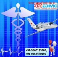 Hire Medivic Air Ambulance in Lucknow at a Normal Price Rate