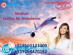 Get No-1 Air Ambulance from Ranchi with Classy Medical Facility