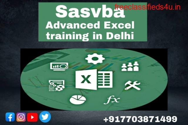 Advance Excel Training in Delhi