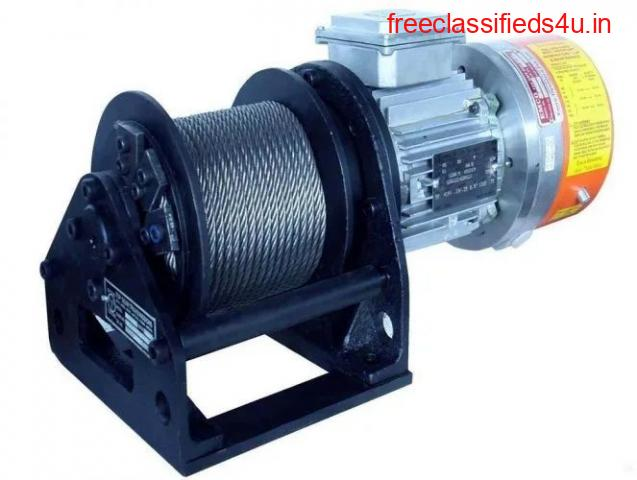 Are You Looking For Electric Winch Drives Manufacturer in India?