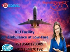 Pick Reliable Patient Transfer Air Ambulance from Kolkata by Medivic