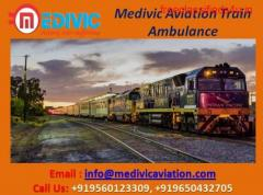 Get Credible Train Ambulance in Kolkata with Medical Team - Medivic Aviation
