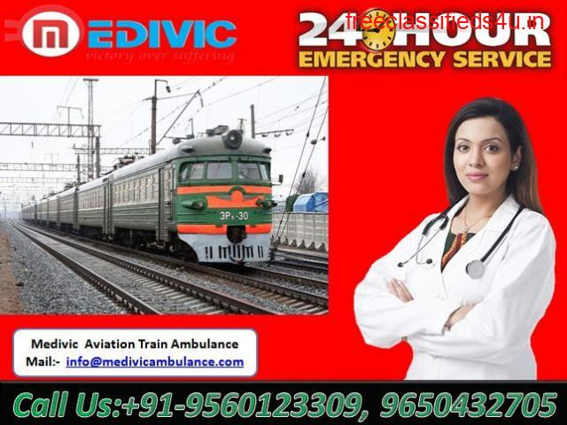 Get Fast and Advance Train Ambulance in Guwahati by Medivic Aviation