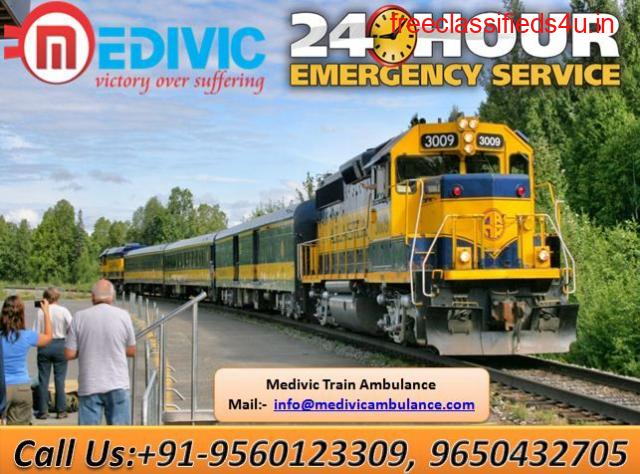 Get Fast and Low-Cost Train Ambulance in Ranchi by Medivic Aviation