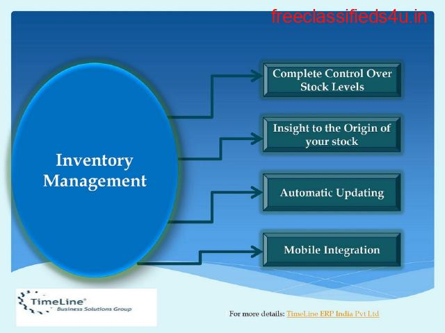 Benefits Of Erp Inventory Management System | Timeline ERP India Pvt. Ltd