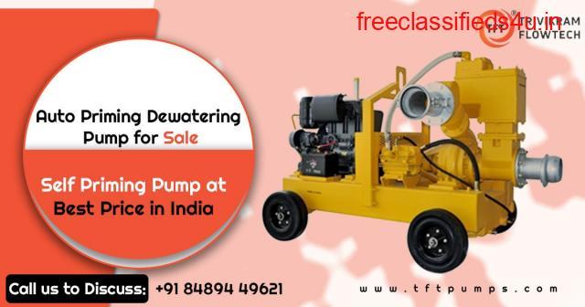 Best Auto Priming Dewatering Pump Supplier - TFTPumps.com