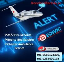 Fully ICU Capable Air Ambulance Service in Ahmedabad by Medivic