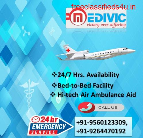 Obtain Cost-Effective Air Ambulance Service in Allahabad by Medivic