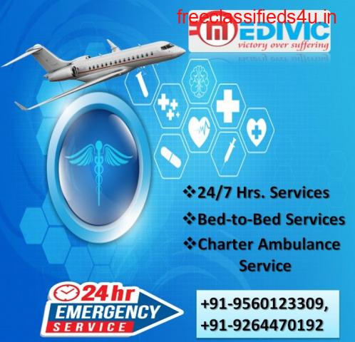 Take Preferable Air Ambulance Service in Hyderabad by Medivic