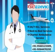 Book Medivic Air Ambulance Service in Indore at Sufficient Fare