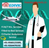 Appropriate ICU Care by Medivic Air Ambulance Service in Jabalpur