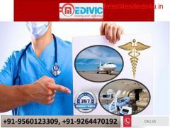 Choose Paramount Air Ambulance Service in Varanasi by Medivic