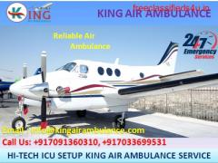 Best Patient Shifting Air Ambulance in Patna by King Ambulance