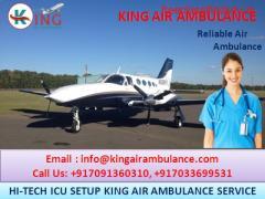 Choose the Best ICU Air Ambulance in Guwahati-King Air Ambulance