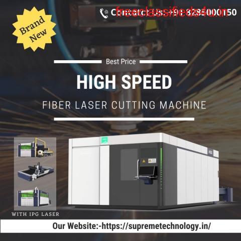 Brand New HSG Fiber Laser Cutting Machine