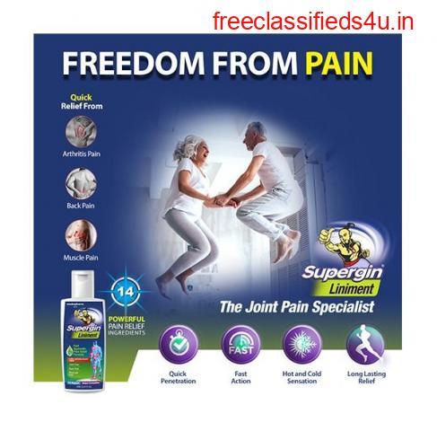 Supergin Pain Relief Liniment Oil