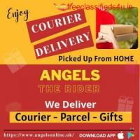 Online Courier Delivery Service App - Angels Rider