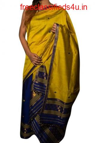 Mekhela Silk Saree   Mekhela Chador Saree   Luxurionworld