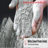 Mohta Cement – Top Cement Manufacturer and Supplier in Indore