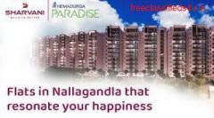 Gated Community Apartments near Nallagandla, Hyderabad |Sharvani|