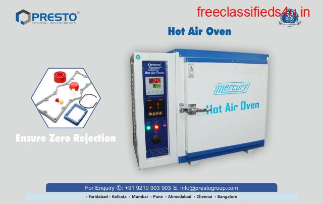 Hot Air Oven Manufacturer, Supplier and Exporter in India