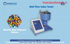 Melt Flow Index Tester Manufacturer and Supplier in India