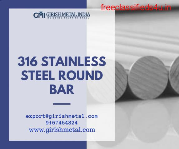 Buy 316 Stainless Steel Round Bars