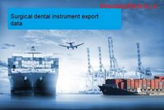 Surgical dental instrument export data: A Business Intelligence Report for Traders