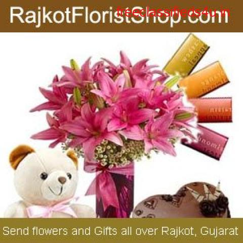 Send Online Gifts, Chocolates & Rakhis to Rajkot at Low Cost with Same Day Delivery