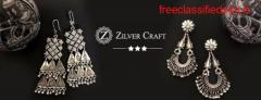 Jhumka Design in Silver
