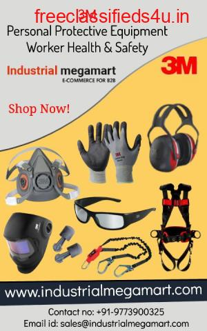 3M worker health and safety equipment +91-9773900325